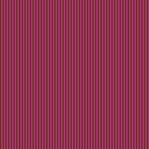 Dark brown stripes on hot pink.