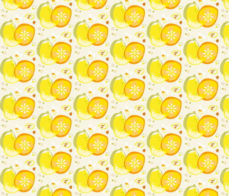 Sunny Frutti fabric by chris_aart on Spoonflower - custom fabric