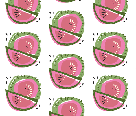Fresh Frutti fabric by chris_aart on Spoonflower - custom fabric