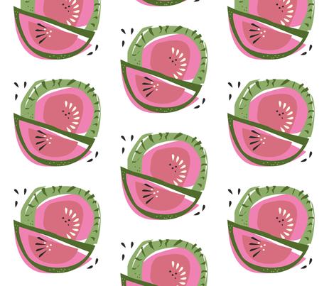 Fresh Frutti fabric by chris_aart on Spoonflower - custom fabric