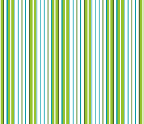 Fresh Frutti stripes fabric by chris_aart on Spoonflower - custom fabric