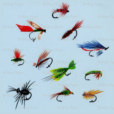 Dance of the Fishing Flies