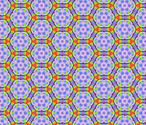 Rainbow Ripple fabric by siya on Spoonflower - custom fabric