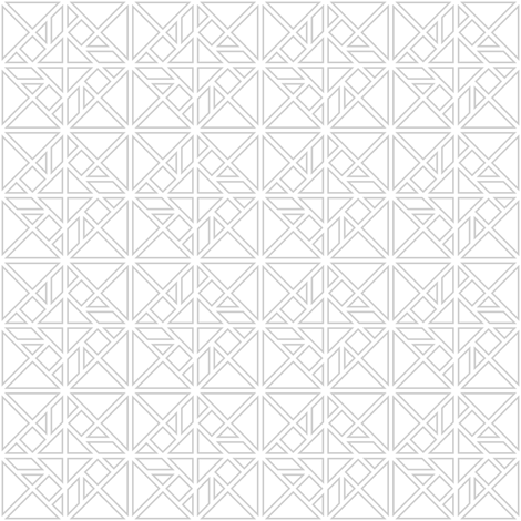 tangram rotated fretwork fabric by sef on Spoonflower - custom fabric