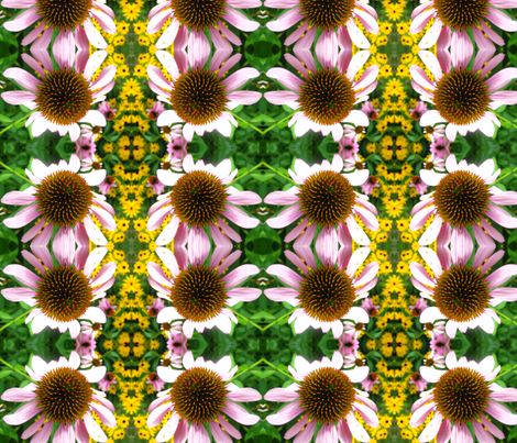 Pink Daisy fabric by aramsey1971 on Spoonflower - custom fabric