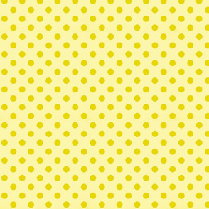 Small polka_dots_yellow_on_yellow