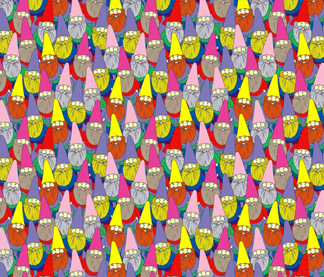 Mister Gnome fabric by lydia_meiying on Spoonflower - custom fabric