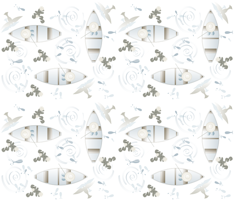 fishing_fabric fabric by rward on Spoonflower - custom fabric