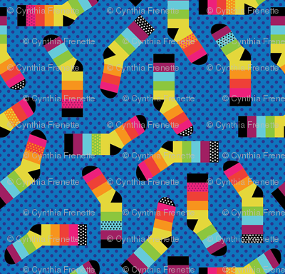 Small Rainbow Feet