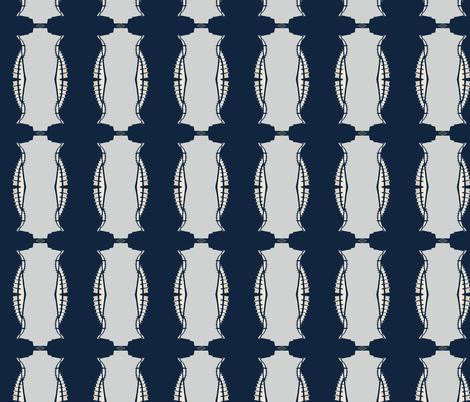 Beanie Weenie fabric by susaninparis on Spoonflower - custom fabric