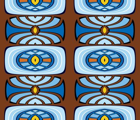 In Maze fabric by merttu on Spoonflower - custom fabric