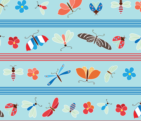 Frenchy fabric by kayajoy on Spoonflower - custom fabric