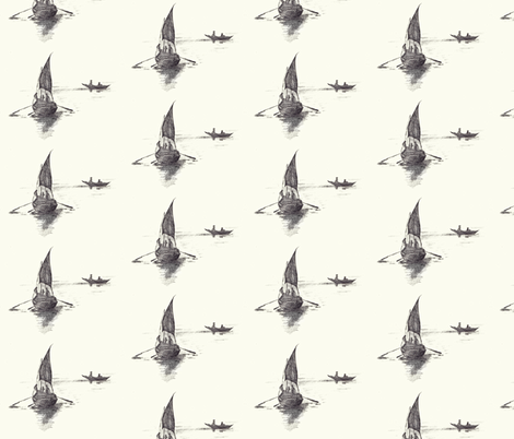boats fabric by anaki on Spoonflower - custom fabric