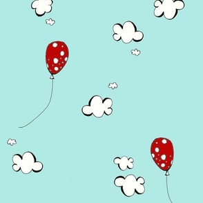 Red Mushroom Balloons