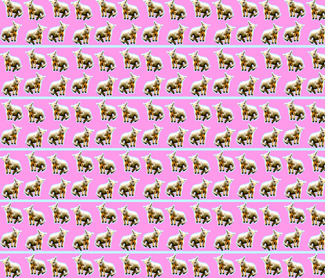 Little Lambs Leaping fabric by robin_rice on Spoonflower - custom fabric