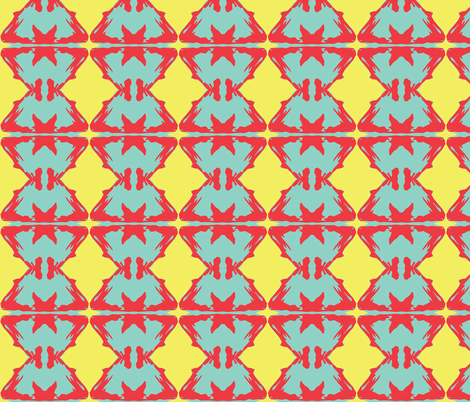 K-BOOM! fabric by susaninparis on Spoonflower - custom fabric