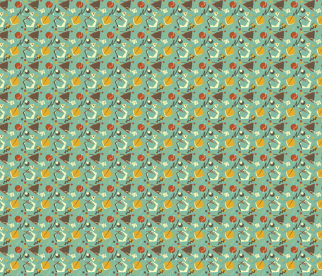 My Old Curtains fabric by eppiepeppercorn on Spoonflower - custom fabric