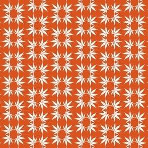 CannabisFoulard_BurntSienna
