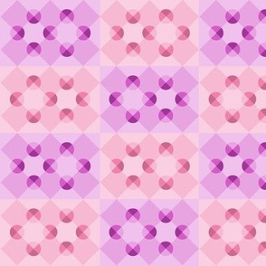 Purple (and Pink) Haze - optical illusion