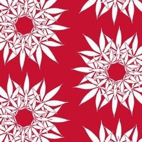 LeafCircle_Garnet