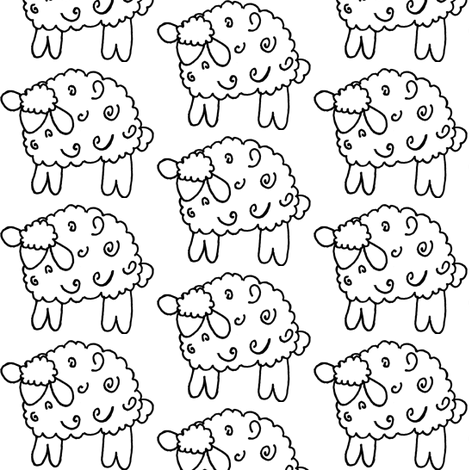 Cartoon_Sheep2