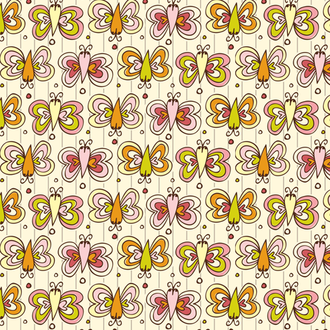 Butterfly Net fabric by heatherdutton on Spoonflower - custom fabric