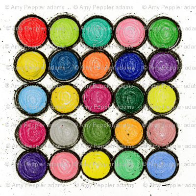 "25 Circles 18"" Napkin"