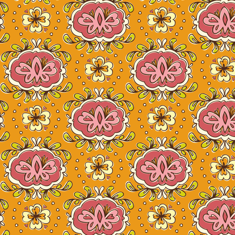 Cameo Appearance fabric by heatherdutton on Spoonflower - custom fabric