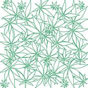ScatteredLeaves_Cannabis_wbg