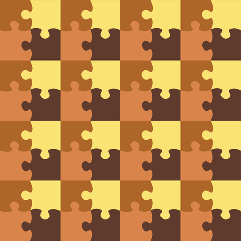 Puzzle_Motif_11 fabric by animotaxis on Spoonflower - custom fabric