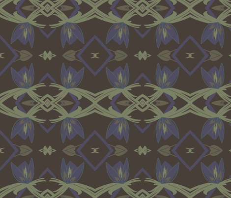 spot of blue fabric by melissamarie on Spoonflower - custom fabric