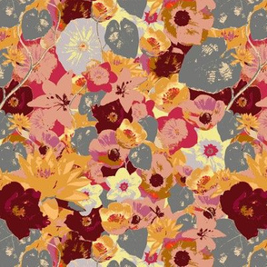 large floral repeat - colorway2