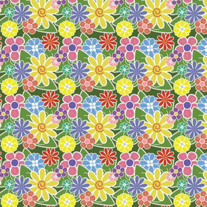 Fun Florals Bright