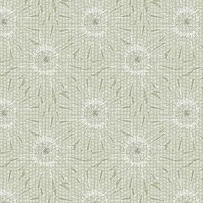 ©2011 Tiled Daisies - Seersucker Sage