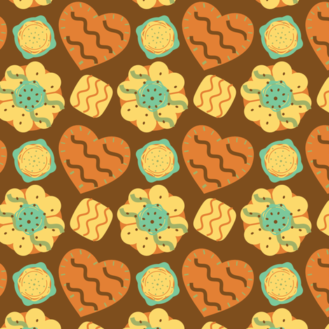 Not enough cookies! fabric by eppiepeppercorn on Spoonflower - custom fabric