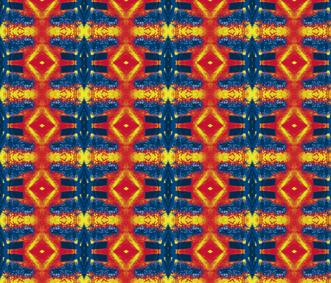 Ponderosa Blanket fabric by susaninparis on Spoonflower - custom fabric