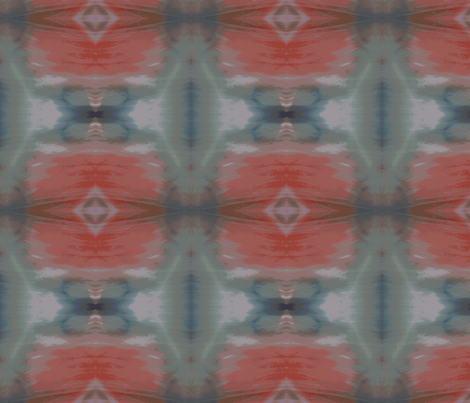 Ikat Lanterns fabric by susaninparis on Spoonflower - custom fabric