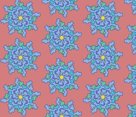 Rrgothic_flower_in_blue_with_coral_background_final_shop_preview