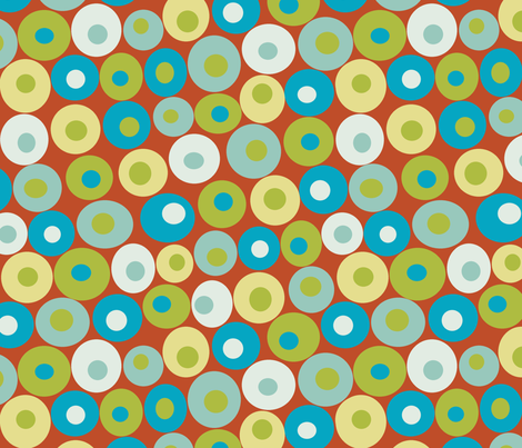 dotsy harvest fabric by littlerhodydesign on Spoonflower - custom fabric
