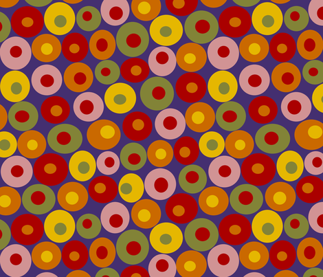 dotsy spice fabric by littlerhodydesign on Spoonflower - custom fabric