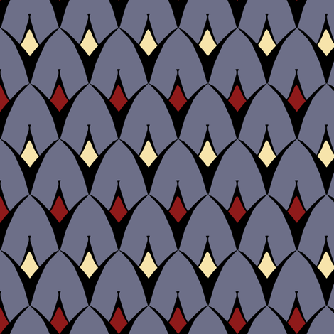 Strange fabric by pond_ripple on Spoonflower - custom fabric