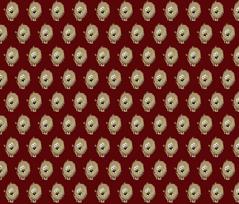 Cartoon lion. fabric by graphicdoodles on Spoonflower - custom fabric