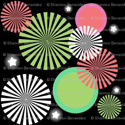 Watermelon Fireworks Show