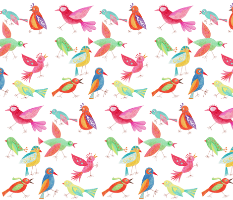 Crazy Feet fabric by kayajoy on Spoonflower - custom fabric