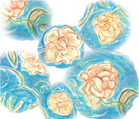 flowers_expressed fabric by marygrace on Spoonflower - custom fabric