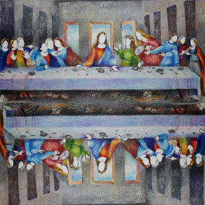 Not Your Grandma's Last Supper Napkin