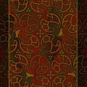 ©2011  Shower Curtain - Bird Motif - Orient