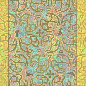 ©2011 Shower Curtain - Bird Motif - Island Canary