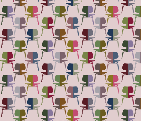 half chairs fabric by meredithjean on Spoonflower - custom fabric