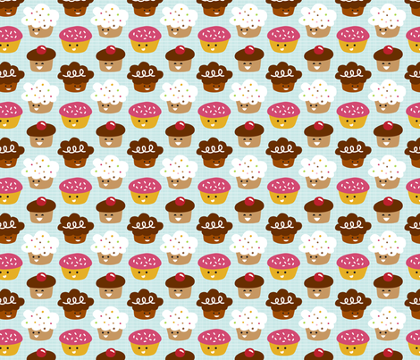 Cuppycakes! fabric by tradewind_creative on Spoonflower - custom fabric
